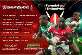 Kenya open USA Sevens quest with France
