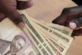 Shilling rebounds to 101 against the dollar