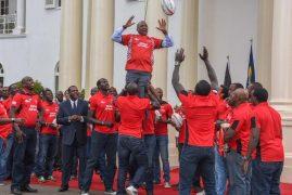 [VIDEO] Uhuru rewards Kenya Sevens team with Sh10 million after Singapore triumph