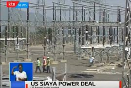 A US Government supported consortium is set to put a 40 Megawatt solar power plant in Siaya