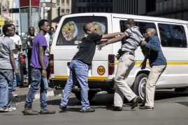 Fresh fears of xenophobic violence in South Africa