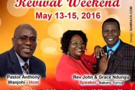 """Jesus Celebration Center Lowell Invites you to 2 Days """"Step into your Destiny   Revival Weekend"""" May 13-15th 2016"""