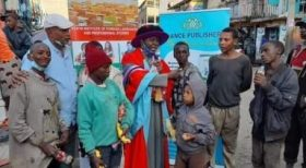 Lecturer Celebrates Graduation With Nairobi Street Children [PHOTOS]