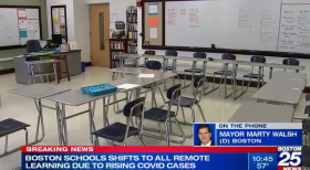 129 student, 73 staff cases of COVID reported in Massachusetts schools in last week