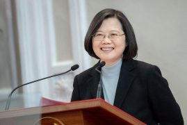 Taiwanese President Tsai Ing-wen wins a second term, signaling strong voter support for her tough stance against China.