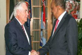 Trump kicks out Secretary of State Rex Tillerson after Kenya