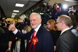 Labour Party  celebrate London landslide in 'revenge of the Remainers'