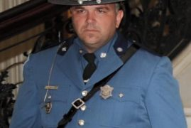 Massachusetts State trooper killed in crash on Mass Pike