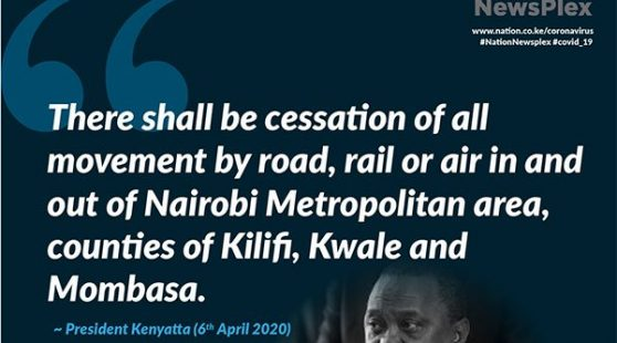 Uhuru spells out tougher measures to contain Covid-19
