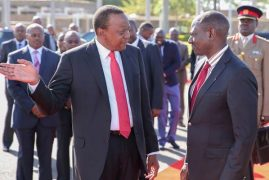President Uhuru Kenyatta Leaves for UN Meeting in New York