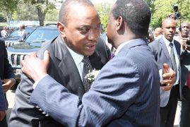 Leaders united in grief as they pay last tribute to Raila Odinga's son Fidel