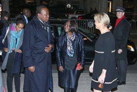 Ngina Accompanied Uhuru to France and Kenyans on Twitter Can't Cope [PHOTOS]