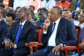 Jubilee officially names new team as Ruto gripes