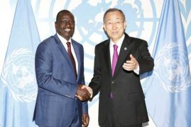 UN praises Kenya's peace keeping role in Horn of Africa