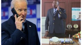 Biden phones Uhuru, talks about regional security, climate change