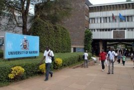 The University of Nairobi has been ranked the fifth best university in Africa