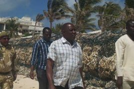 NLC clash with Italian tycoon over erection of beach wall next to marine park in Malindi