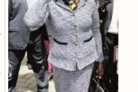 """Mary Wambui Given """"Cold Shoulder"""" at Lucy Kibaki's Burial"""