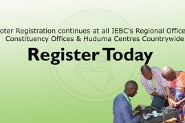 Civic Duty:Lest we forget: The voter registration exercise is ongoing in constituencies