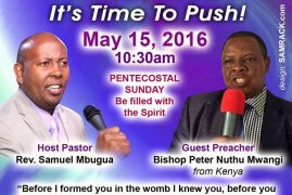 "Invitation: Pentecostal Sunday,May 15th 2016 10:30 Am ""Birthing your Promise.."" @ Well of Worship Center,Dracut,Massachusetts"