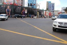PHOTOS: Kidero Introduces Yellow Boxes on City Roads