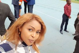 Size 8 Gets Bashed By Kenyans After Her Performance During Uhuru's Inauguration
